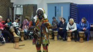 Drumming workshops for SEN students