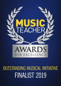 Music Teacher Awards for Excellence Finalist 2019